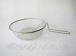 Фритюрниця нержавіюча 26 х 8 cm (100 шт)