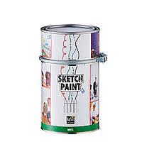 Маркерная краска Sketchpaint 1л 6кв.м. белая прозрачная