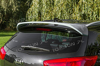 Спойлер на крышку багажника тюнинг Kia Sportage