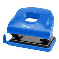 Дырокол Axent Ocean 3805-02-A с пластиковым верхом, 25 листов