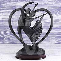 Статуэтка Танцующая пара черная