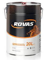 Rovas 80W-90 20л универсальное трансмиссионное масло для легковых и грузовых автомобилей