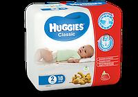 Huggies® подгузник Классик 2 (3-6 кг), 18