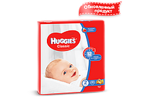 Huggies® подгузник Классик 2 (3-6 кг), 88