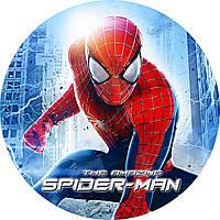 """Детские одноразовые бумажные тарелки """"Spider man"""""""