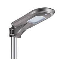 Уличный LED светильник на солнечных батареях J602 - 12W (1200Lum)