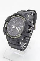 Мужские спортивные наручные часы Casio G-Shock черные+антрацитовые