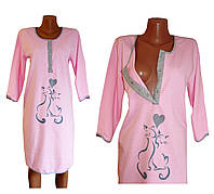 Ночные рубашки для кормящих мам. Теплые.