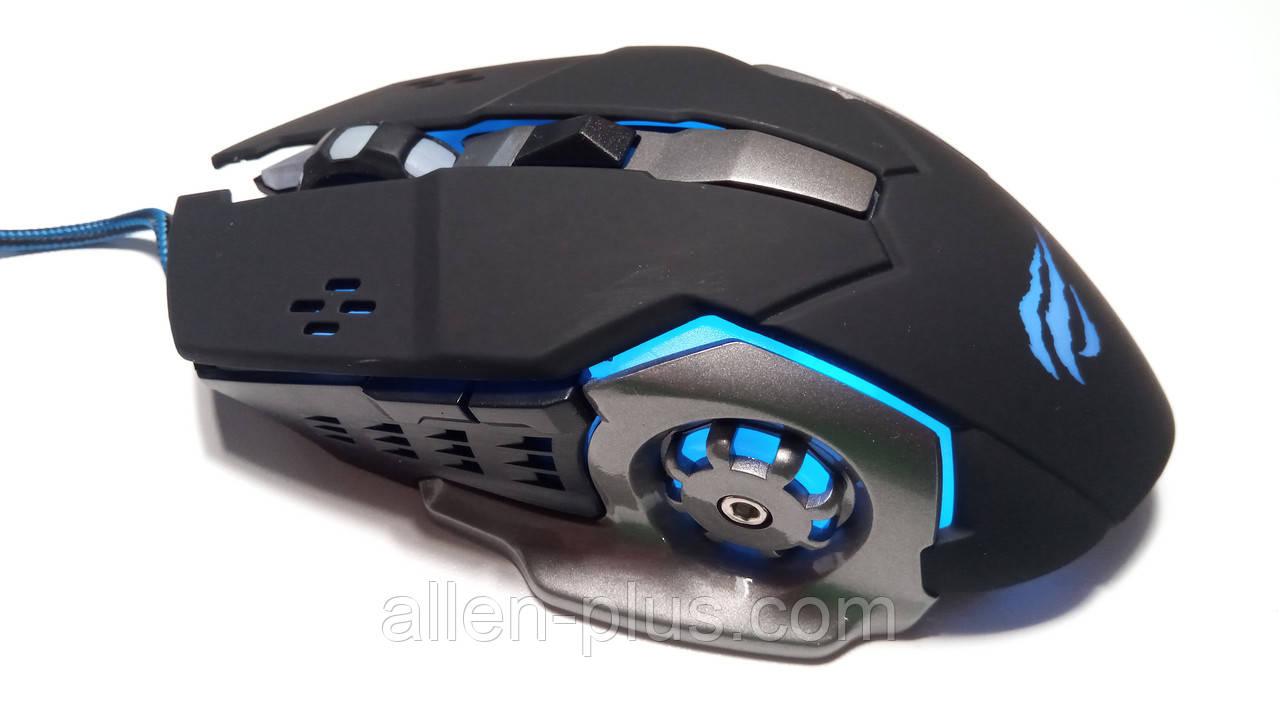 Ігрова миша HAVIT HV-MS783 (3200 DPI) GAMING USB, black