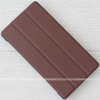 Чехол Slimline Portfolio для Lenovo Tab4 7 Essential TB-7304F, 7304I, 7304X Brown + плёнка