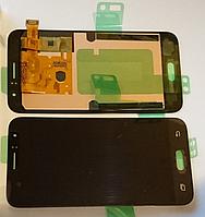 Дисплей (модуль) + тачскрин (сенсор) Samsung Galaxy J1 2016 SM-J120 J120F J120H (черный, яркость регулируется)