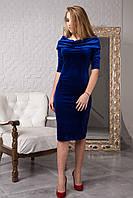 Вечерние велюровое платье от производителя