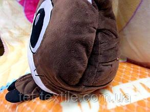 Плед - мягкая игрушка 3 в 1 (Котик коричневый), фото 2