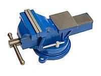 Тиски станочные поворотные 150 мм, 14 кг Сталь БД