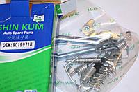 Рем комплект задних тормозных колодок левый (полный) Ланос (SHIN KUM) 90199718
