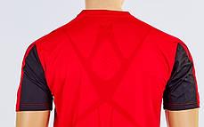 Футбольная форма Height CO-1014-R (PL, р-р M-XXL, красный-черный, шорты красные), фото 3