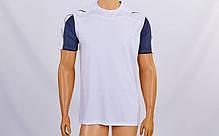 Футбольная форма Height CO-1014-W (PL, р-р M-XXL, белый-серый, шорты серые), фото 3