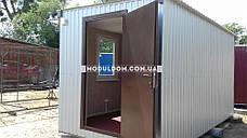 Мобильный офис (5 х 2,4 м.), на основе цельно-сварного металлокаркаса., фото 2