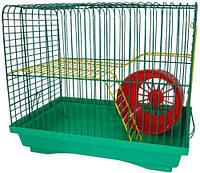 Клетка Хомяк - 2 Лори, 330х230х290 мм