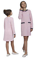 Платье  детское с рукавом М -1109 рост 110-170 трикотажное разных цветов, фото 1