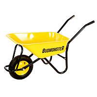 Тачка строительная одноколесная 80 л 200 кг BudMonster 01-006