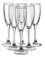 Набор бокалов для шампанского Luminarc Signature Эталон H8161/1, 6 шт х 170 мл