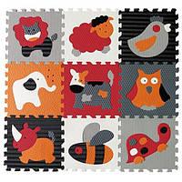 Детский игровой коврик - пазл «Веселый зоопарк» GB-M129A4 Baby Great