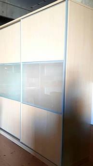 Шкаф купе арт. 0385 светлый, ширина 200см