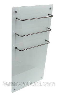 Стеклянный полотенцесушитель Hglass Premium GHT 5010 W
