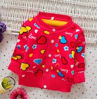 Яскраві та м'які светрики для дівчаток - немовлят