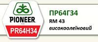 Семена подсолнечника ПР64Г34, Пионер (Pionner PR64H34)