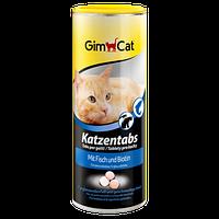Витамины с рыбой и биотином для кошек Gimpet Katzentabs