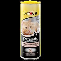 Витамины с сыром Маскарпоне, биотином и ТГОС для кошек Gimpet Katzentabs