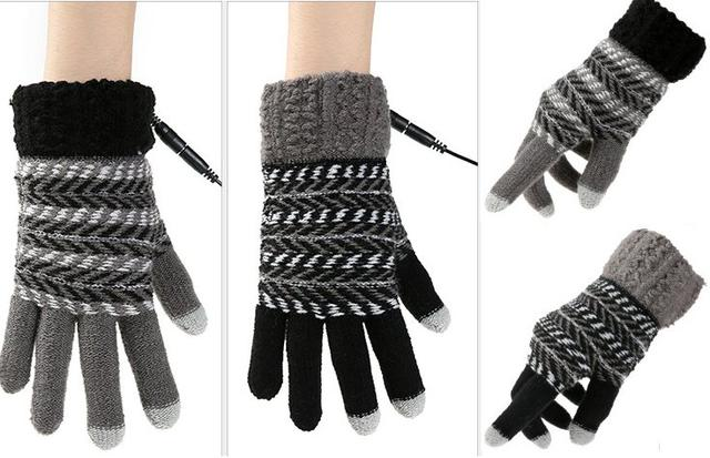 перчатки для сенсорных экранов с подогревом