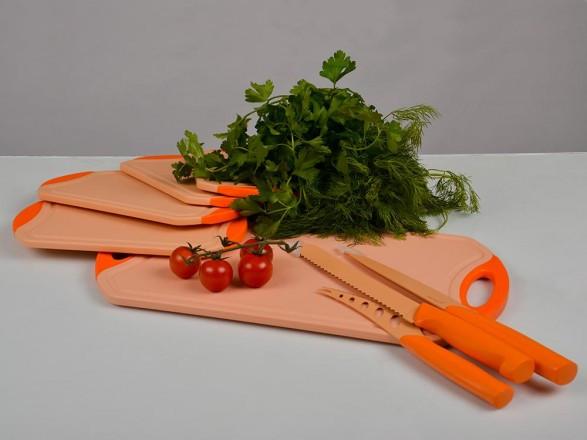 Набор для нарезки ножи и доски  Hilton CB 1217