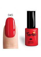 """Гель лак Tertio №  45 """"Beauty"""""""