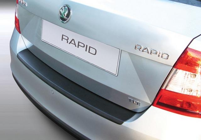 RBP585 Rear bumper protector Skoda Rapid 2012>