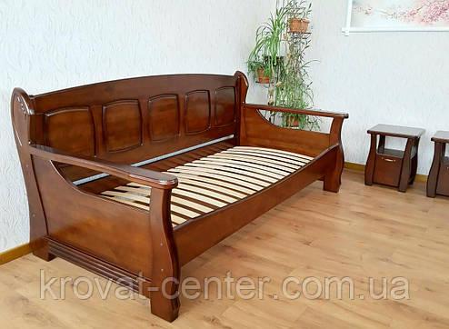 """Кровать из серии """"Ян Марти"""". Массив дерева - ольха, береза, дуб., фото 2"""
