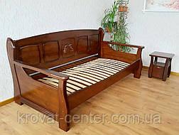 """Кровать из серии """"Ян Марти"""". Массив дерева - ольха, береза, дуб., фото 3"""