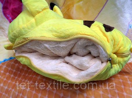 Плед - мягкая игрушка 3 в 1 (Покемон), фото 2