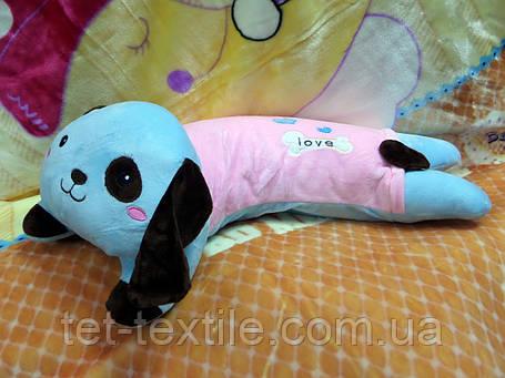 Плед - мягкая игрушка 3 в 1 (Собачка), фото 2