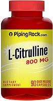 Аминокислоты Piping Rock L-Citrulline 800mg (90 caps)