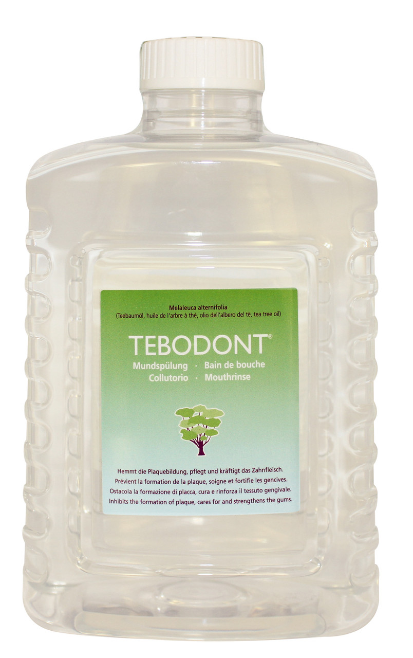TEBODONT ополаскиватель полости рта для Диспенсера,  1500 мл+120 стаканчиков
