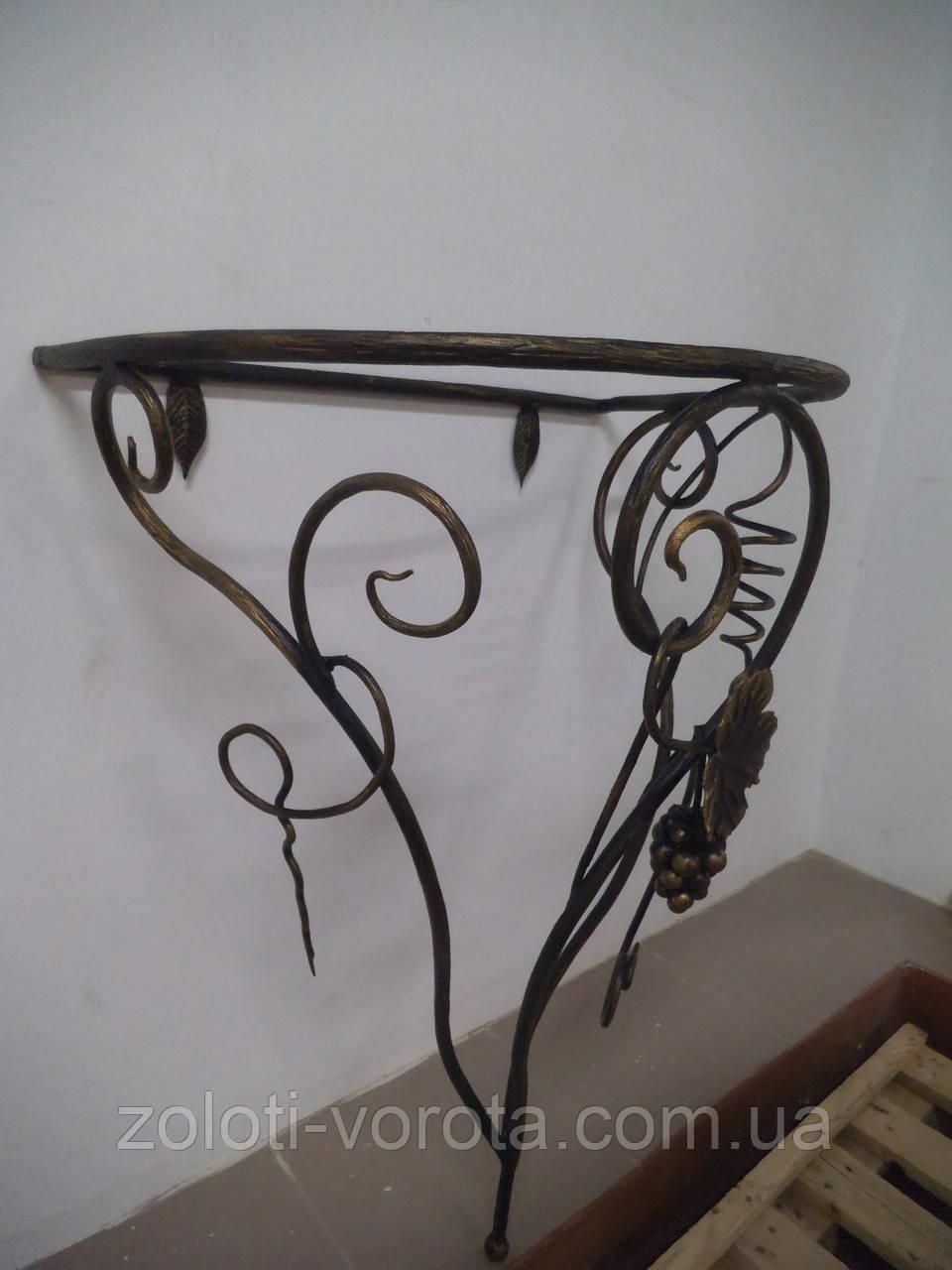 Кованый консольный столик