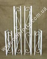 33953 Вставка для увеличения и расширения арки свадебной с бортиком (4 части)