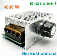 Мощный электронный регулятор напряжения,мощности AC 220V Диммер 4000Вт