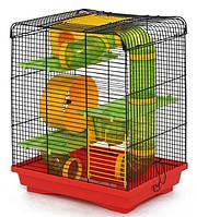 Клетка Хомяк - 3 Лори краска, 335х230х430мм