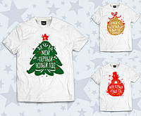 """Детская футболка """"Мой первый Новый год"""" (р.86-92), фото 1"""