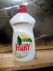 Жидкое средство для мытья посуды Fairy Сочный Лимон 500 мл