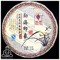 Чай Пуэр (Шу) Гу И Мэнхай Иньсян 2014 год